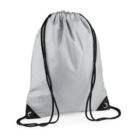 CHOOSE DESIGN - LIGHT GREY GYMSAC